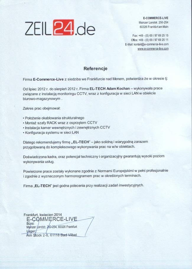 referencje j.polskii